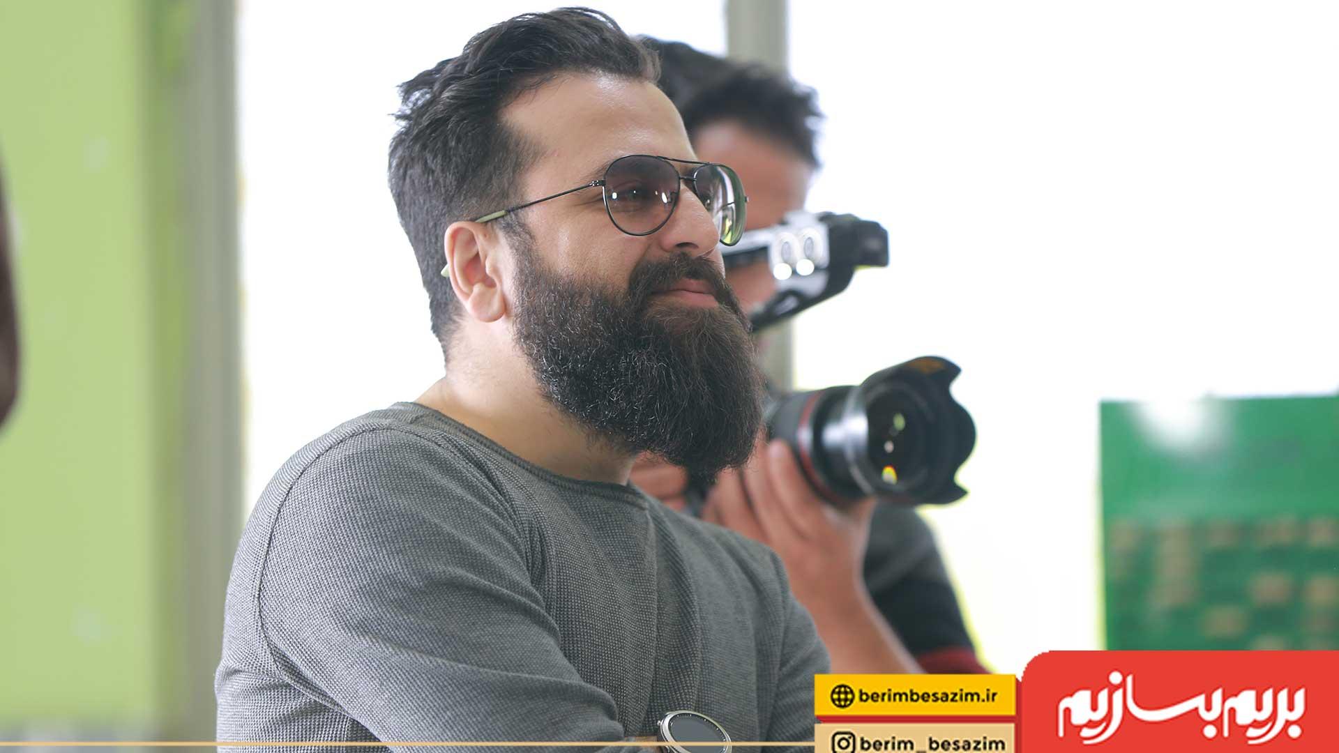 «بریم بسازیم» برنامه ای با حس و حال ایرانی و بومی است/ گفت و گو با «مجید عزیزی» کارگردان برنامه