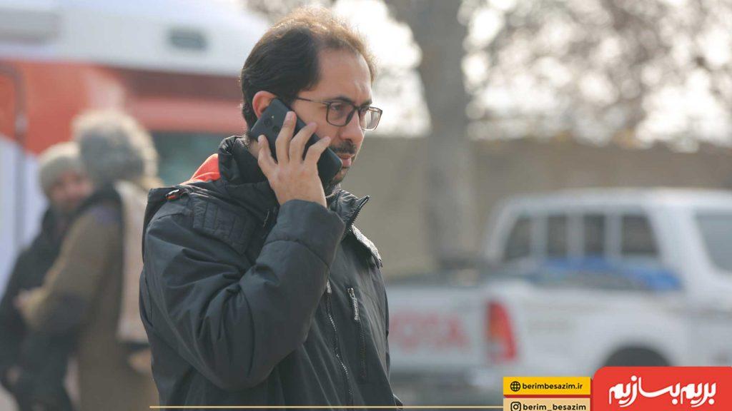 احمد شفیعی تهیه کننده بریم بسازیم